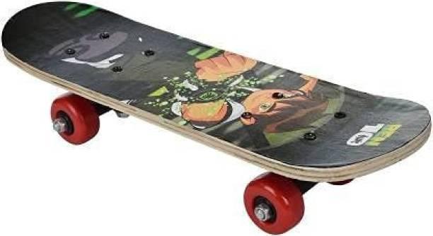 JB KAKADIYA ENTERPRISE Skateboard Play in Road Smooth Wheel and Essay Travel Skateboard for boy and Girls Playboy Special Printed Skateboard 24inch x 6 inch Extremely Big Size Skateboard 24 inch x 5 inch Skateboard 24 inch x 5 inch Skateboard