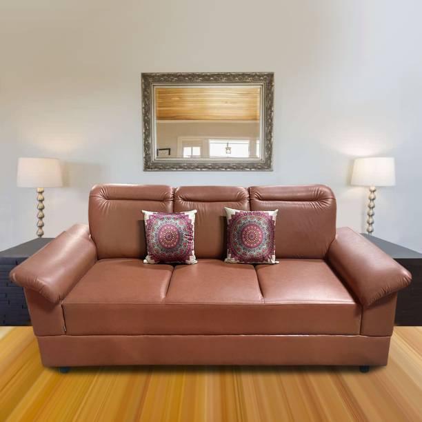 ELTOP Lifestyle Emma Leatherette 3 Seater  Sofa