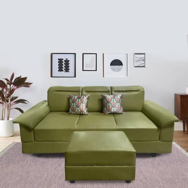 ELTOP Lifestyle Nano Leatherette 4 Seater  Sofa