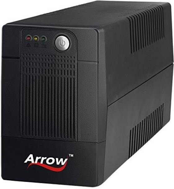 Arrowpowertech 600VA Line Interactive UPS for Personal Computers , Desktop PCs, Laptops, Routers, Networking Devices and Gaming Consoles UPS