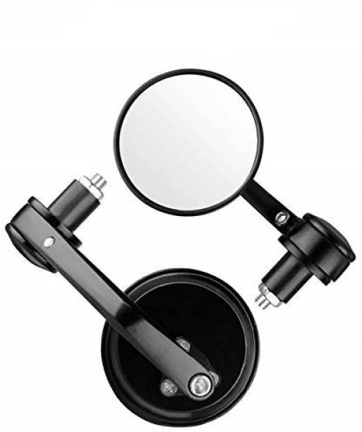 CARIZO Manual Rear View Mirror For Universal For Bike Universal For Bike