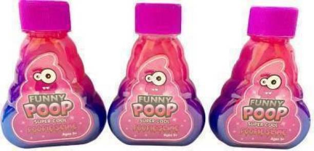 mukume Art craft slime putty unicorn poop cool slime Purple Putty Toy