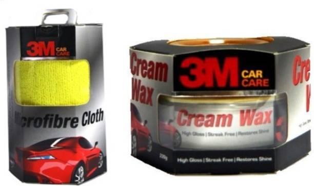 3M Cream Wax 230g Combo