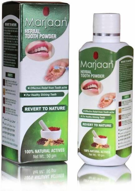 marjaan Herbal Tooth Powder