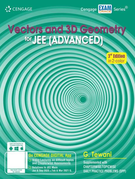 Vectors and 3D Geometry for Jee (Advanced) Third Edition