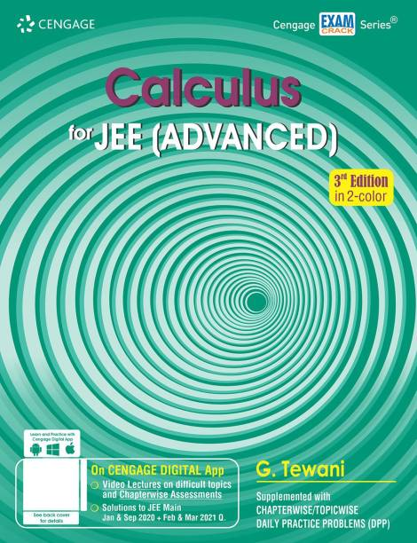 Calculus for Jee (Advanced) Third Edition