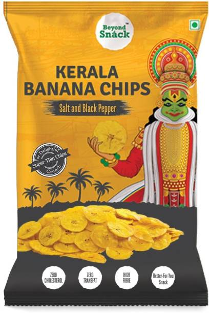 Beyond Snack Kerala Banana Chips Salt & Black Pepper 300g Chips