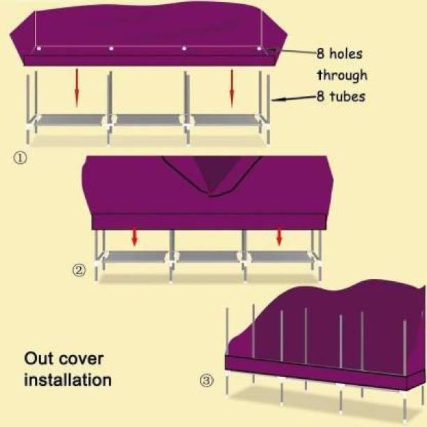 MEZIRE SA 28135 PVC Collapsible Wardrobe