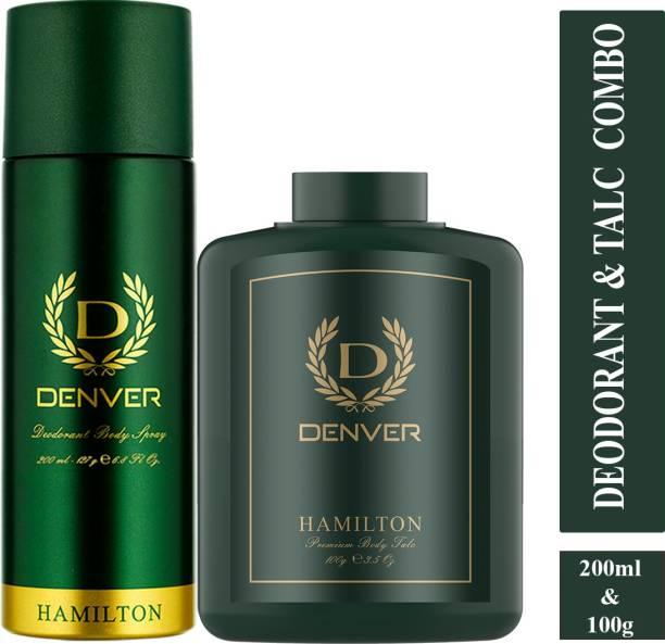 DENVER Deodorant Spray 200 ml & Talc 100 g