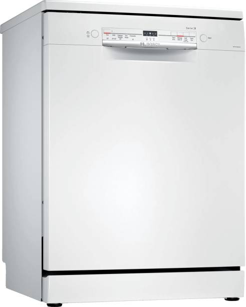 BOSCH SMS2ITW00I Free Standing 13 Place Settings Dishwasher