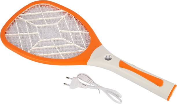 DPM 18 Heavy Duty Mosquito Bat/ Mosquito Racket With Torch & Charging Wire RECHARGEABLEI MOSQUITO SWATTER NET HIGT CAPACITY BATTERY Electric Insect Killer