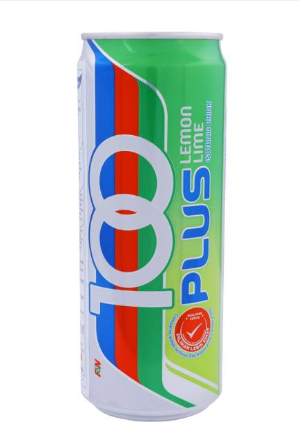 100Plus LEMON LIME ISOTONIC DRINK , 325ML (PACK OF 6) Hydration Drink