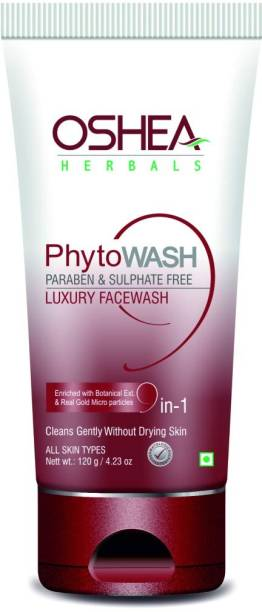 Oshea Herbals Phytowash Paraben & Sulphate Free Luxury Clean Gentle without Drying Skin  Pack of 1 Face Wash
