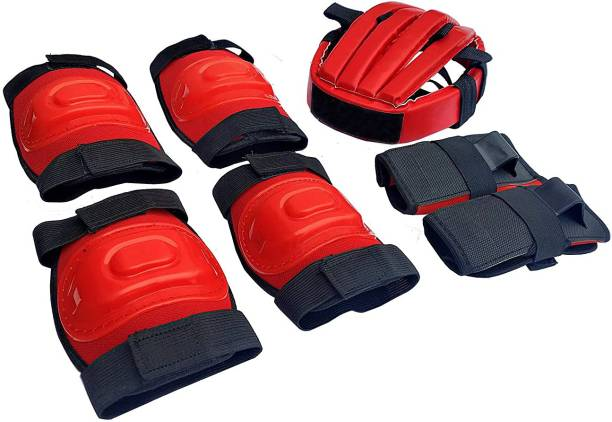 Velma Protective Skating Guard for Kids Skate+Cycling Protection Set for Children 7in1 Skating Guard Combo