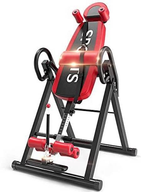 IRIS Fitness Heavy Duty Inversion Table with Headrest Foldable Steel, Foam Inversion Table