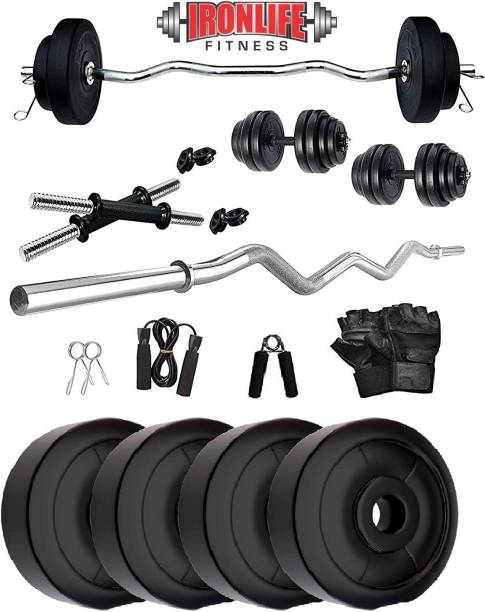 ironlife fitness 10 KG CURL WR Gym & Fitness Kit