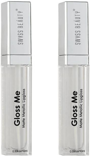 SWISS BEAUTY Lipgloss Gloss Me ( Pack of 2)