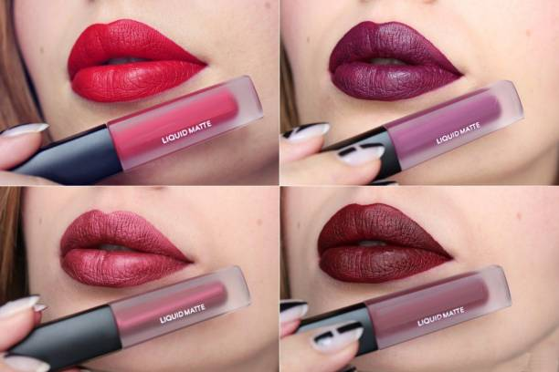 KASCN Matte Mini Long Lasting Lipstick Set Of 4