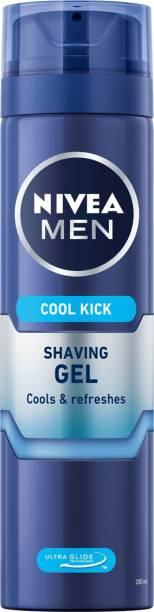 NIVEA Men Cool Kick Imported Shaving Gel