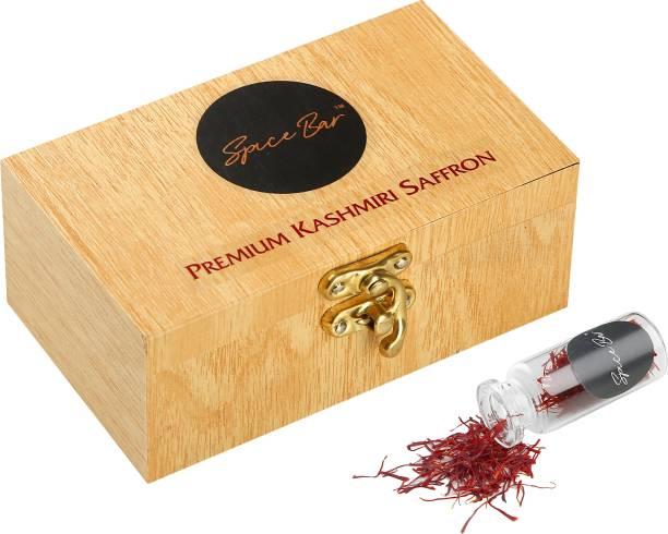 Spice Bar Certified AAA Grade Kashmiri Saffron( Kesar) Threads- 1gm