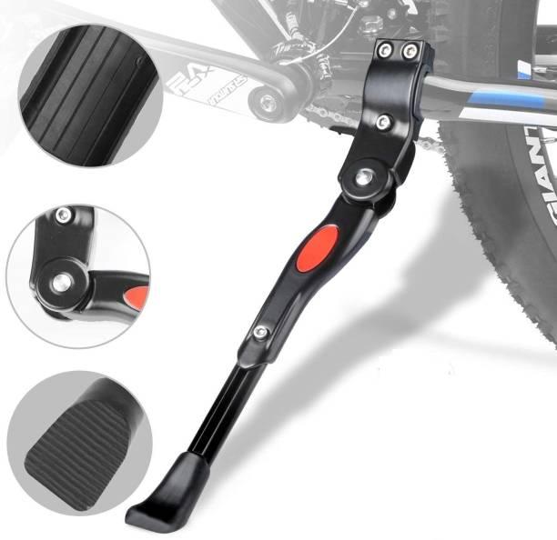 Leosportz Bike Kickstands, Side Kickstand, Bike Stand,Adjustable Support Aluminum Alloy Cycling Stand