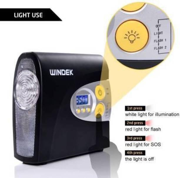 Windek Richtek 300 psi Tyre Air Pump for Car & Bike
