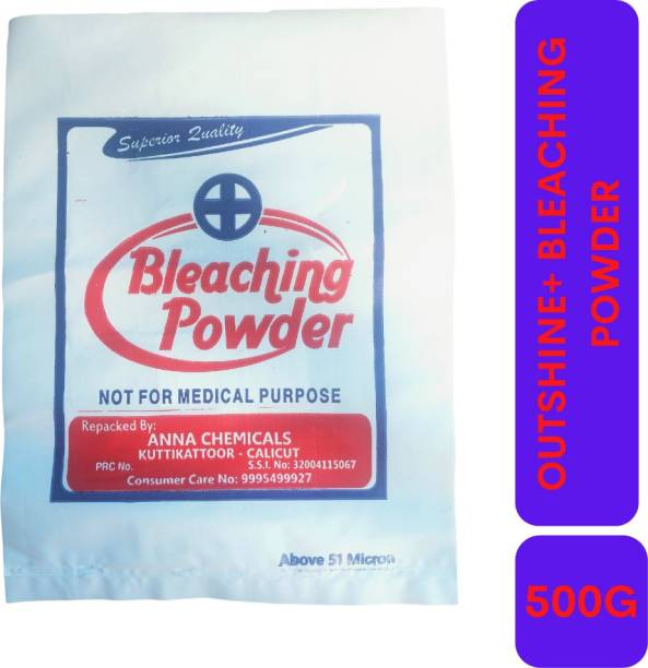 Outshine+ Premium Stable Bleaching Powder Packet 500 G Original Powder Toilet Cleaner