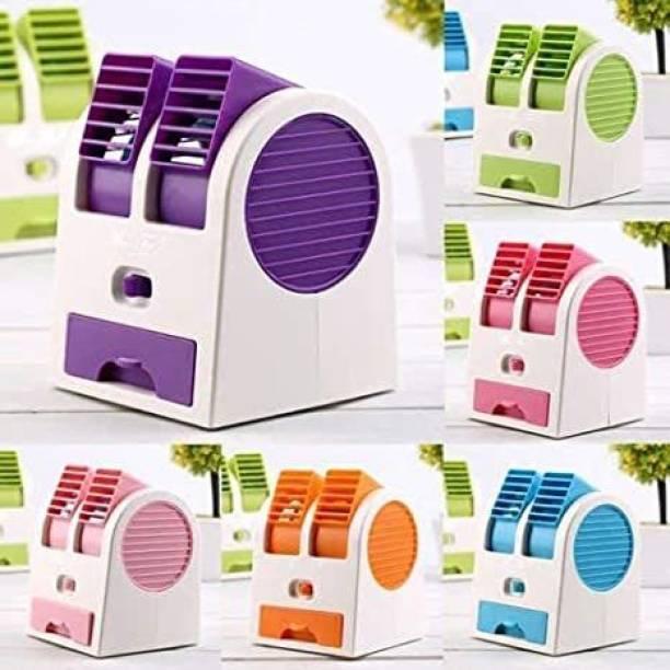 INDOUS mini usb cooler Portable Desktop Mini Cooler with Usb cable USB Air Cooler (MULTICOLOR) USB Fan