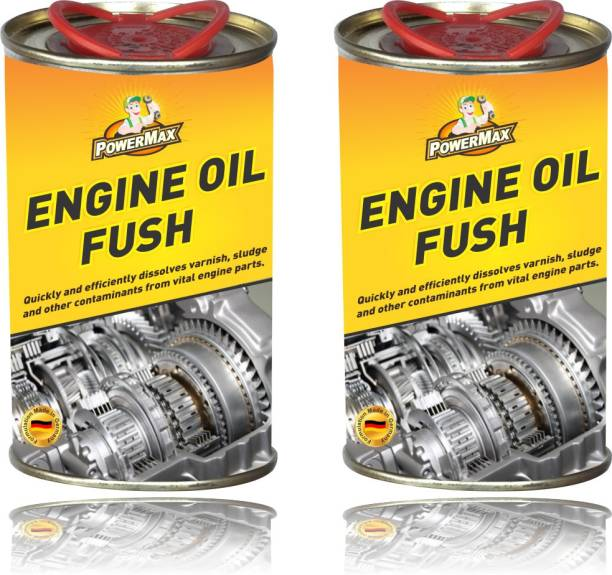 POWERMAX Engine Oil Flush Pack of 2 Engine Cleaner