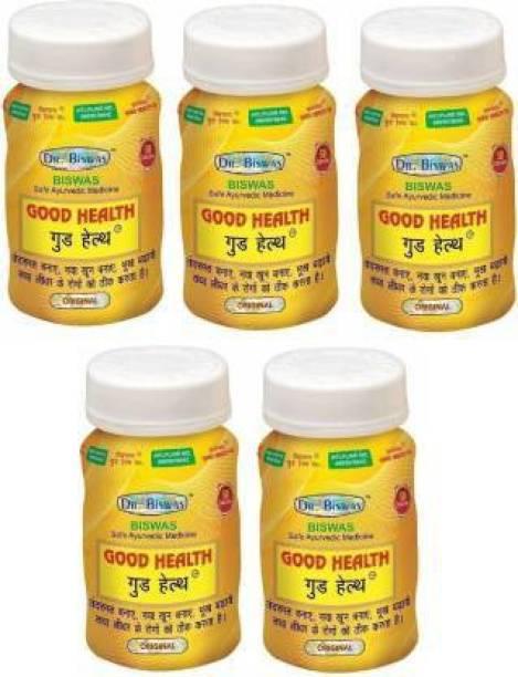 leaf veda Dr Biswas Good Health Ayurvedic Medicine (Pack of 5)