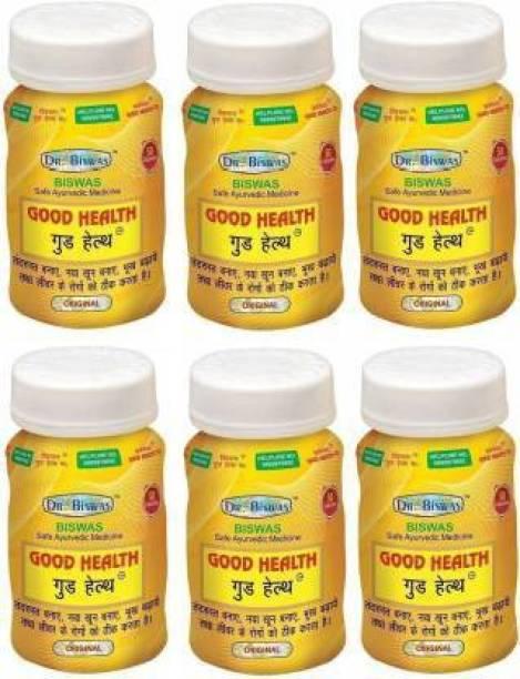 leaf veda Dr. Biswas Good Health 50 Capsules (Pack of 6) 50X6=300 Capsules