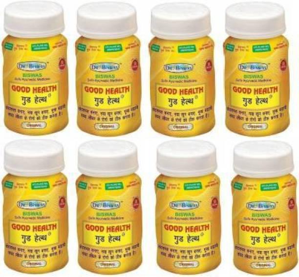 leaf veda Good Health Ayurvedic Medicine (Pack of 8)