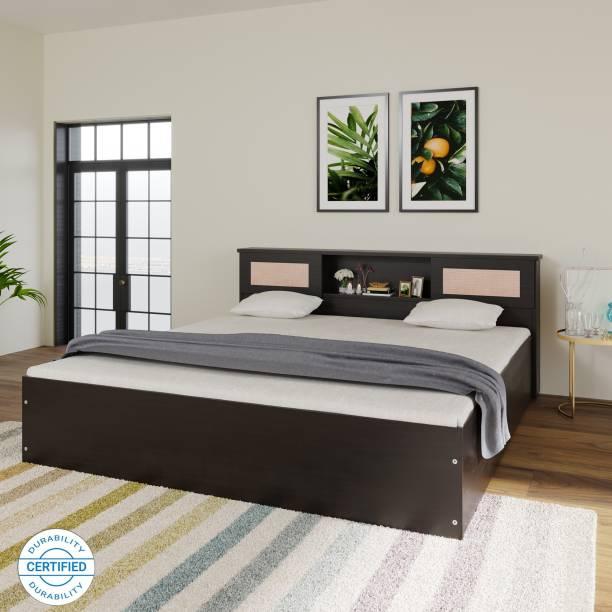DF2H Rhea Engineered Wood Queen Box Bed