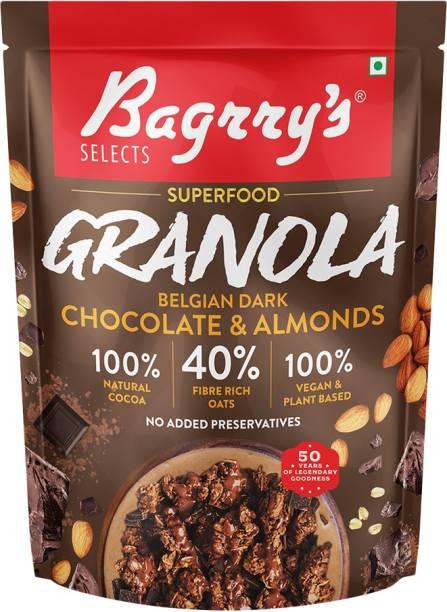Bagrry's Superfood Granola Belgium Dark Chocolate and Almonds