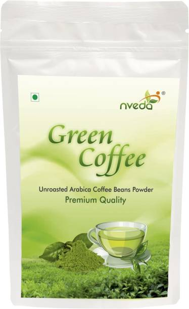 Nveda Green Coffee Beans Powder 200 grams for Weight Loss Instant Coffee