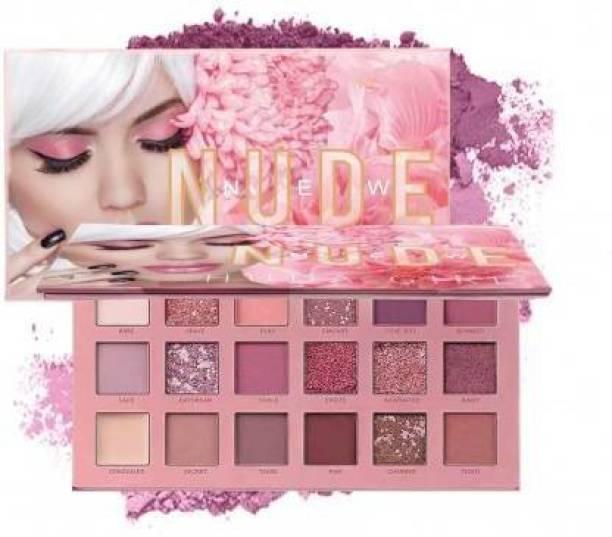 Flemmi Nude Edition Multicolor Beauty Eyeshadow Palette (Nude Edition) 36 ml