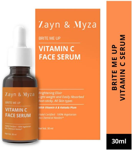 ZM Zayn & Myza Vitamin C Face Serum - Moisturise, Hydrate, Brighten & Delay Signs Of Ageing - Leaves Skin Smooth And Young for All Skin Types