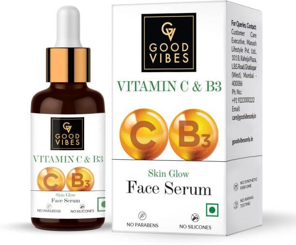 GOOD VIBES Vitamin C & B3 Skin Glow Face Serum (30 ml)