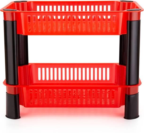 Flipkart Perfect Homes Studio Plastic Kitchen Trolley