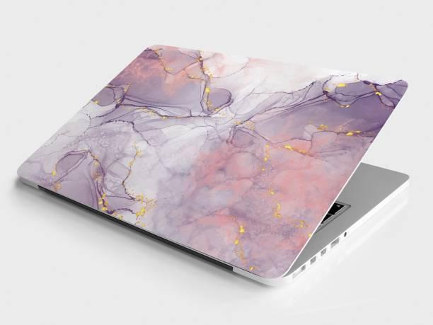 DWELLSINDIA Marble Skin for Laptops Upto 15.6 Inch (HD Quality, Pink) - BUY 1 GET 1 FREE Vinyl Laptop Decal 15.6