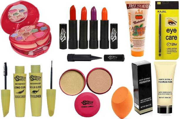 SWIPA All In One Professional Makeup Kit Set Of 13 SDL21035
