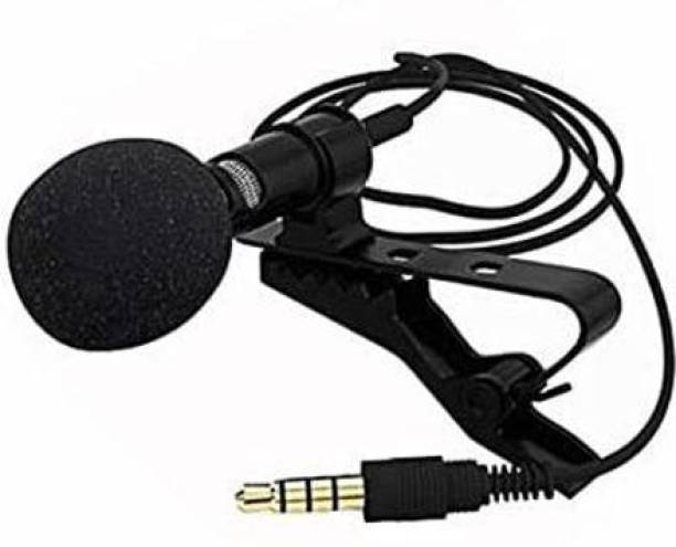 XGMO Digital Noise Cancellation Clip Collar Mic Condenser For YouTube Video | Interviews | Lectures | News | Travel Videos, Mic for All Mobile, Pc, Laptop, Action & DSLR Camera's 3.5mm cable