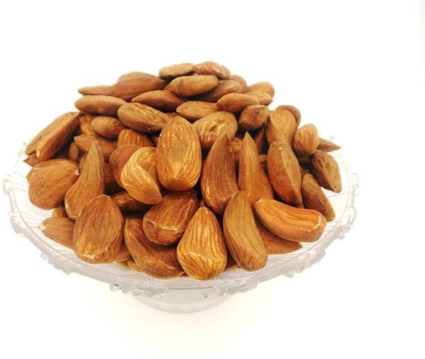 Organic Basket Mamra Almonds (Badam | Pack of 500 gm) Almonds