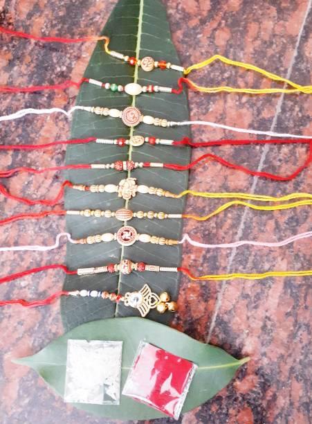 ADY Rakhi, Chawal Roli Pack  Set