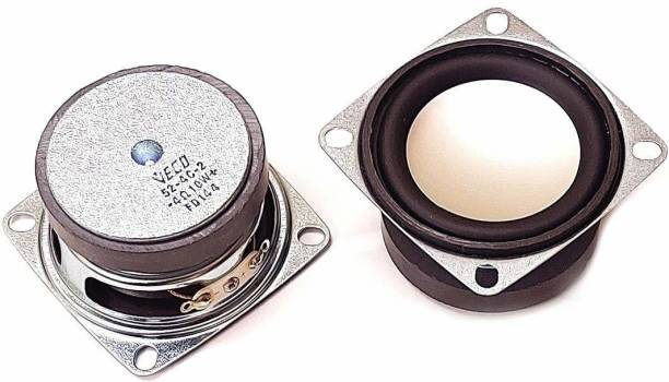E-ivsaJ 2 inch subwoofer 4ohm 10 watt Full Range Speaker, Woofer for DIY 2 Pcs of 2 inch 4ohm 10 watt Full Range Speaker, Woofer for DIY Projects Component Car Speaker Subwoofer