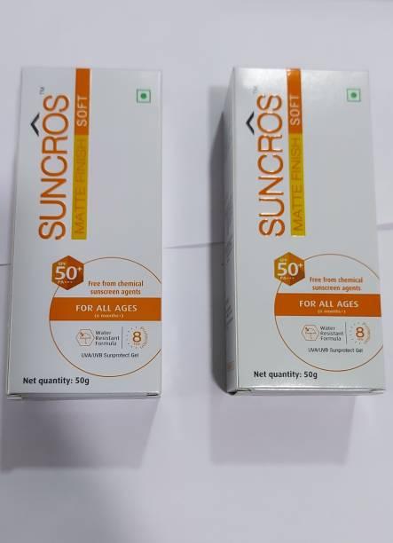 SUN PHARMA Suncros Matte Finish Soft - SPF 50+ PA+++