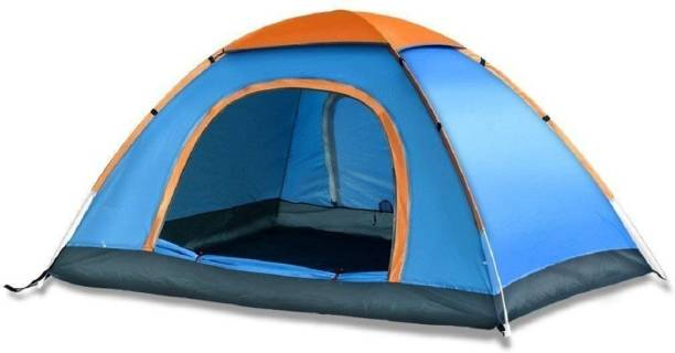 JPK Anti Ultraviolet Outdoor Camping Tent Portable Foldable Trekking Tent Tent Tent - For 2 person