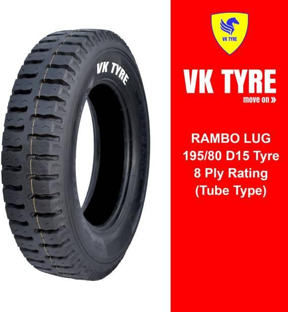 VK TYRE RAMBO LUG 195/80 D15 4 Wheeler Tyre