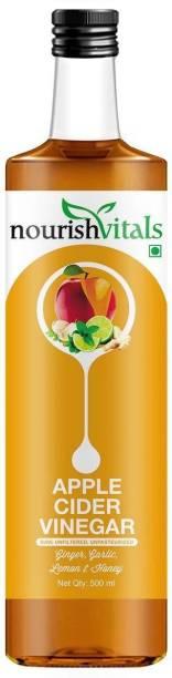 nourishvitals DummyWith Ginger, Garlic, Lemon and Honey Vinegar