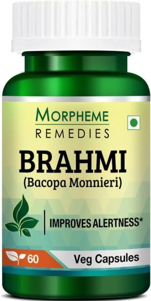 Morpheme Remedies Bacopa (Brahmi) Extract 500 mg